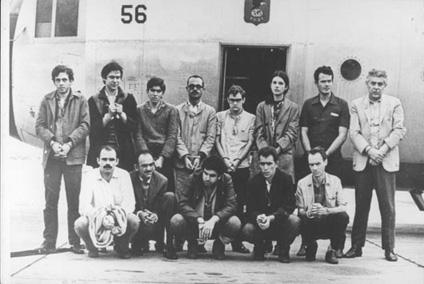 Presos políticos durante a ditadura