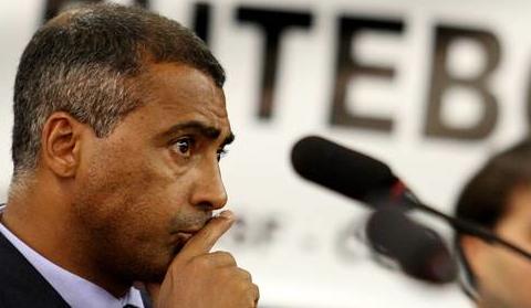 Fotballegende og politikker Romário