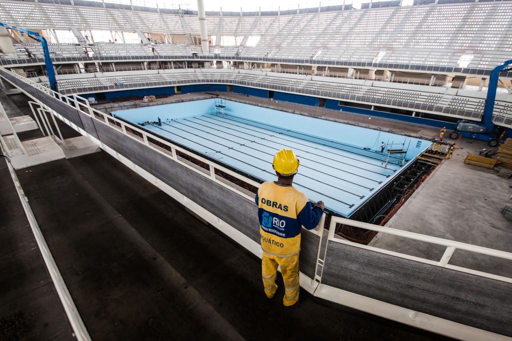 Olympic Aquatics Stadium: 97%